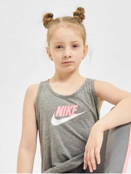 Nike Tank Tops G Nsw Jersey šedá