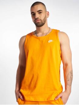 Nike Tank Tops Club  оранжевый