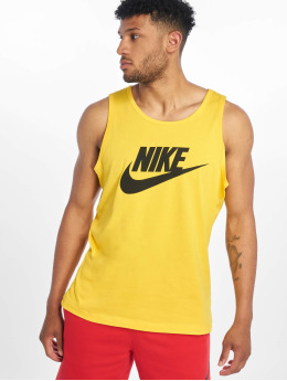 Nike Tank Tops Icon Futura gelb