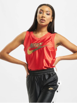 Nike Tank Tops Glam Dunk  red