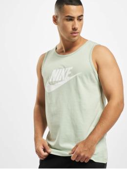 Nike Tank Tops Icon Futura vihreä