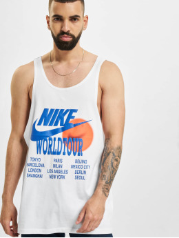 Nike Tank Tops World Tour weiß