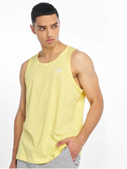 Nike Tank Tops Club Tank Top yellow
