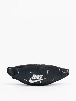 Nike tas Heritage Hip Pack AOP1 zwart