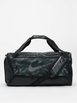 Nike Taske/Sportstaske  Brasilia M Duff 9.0 AOP 2 grå