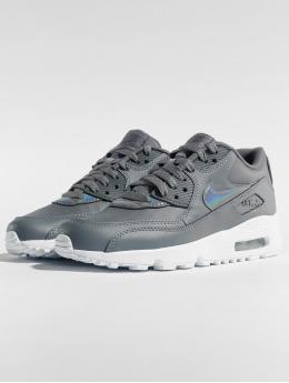 Nike Tennarit Air Max 90 Leather (GS) harmaa
