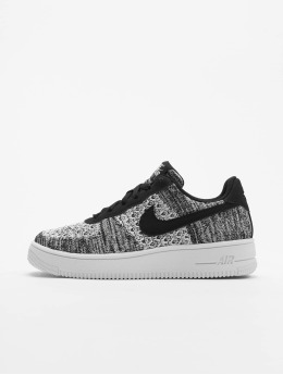 best service c839c 79ff8 Nike Tennarit Air Force 1 Flyknit 2.0 (GS) musta
