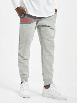 Nike tepláky Swoosh BB šedá