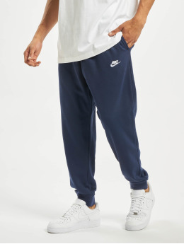 Nike tepláky Club FT modrá