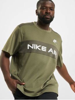 Nike Topssans manche Mesh olive