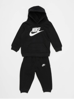 Nike Trainingspak Nkb Club Flc Po Hoodie Pnt zwart