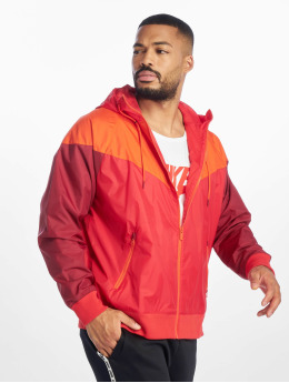 Nike Transitional Jackets M Nsw He Wr Jkt Hd red