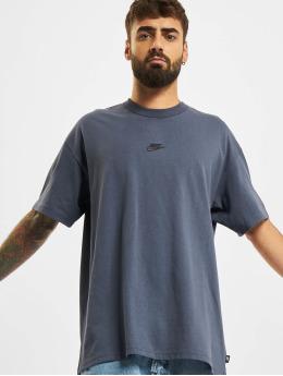 Nike Tričká Premium Essential modrá