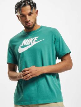 Nike Tričká Icon Futura zelená