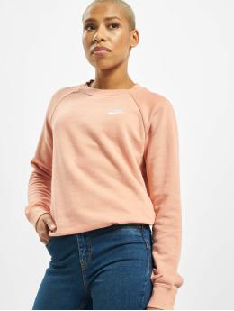 Nike trui Essential Crew Fleece pink