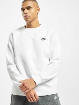 Nike trui Club Crew BB wit