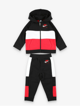 Nike Tuta Air Full Zip & Jogger nero