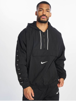 Nike Übergangsjacke Swoosh Woven schwarz