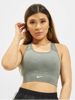Nike Unterwäsche Dri-FIT Swoosh Bra grau