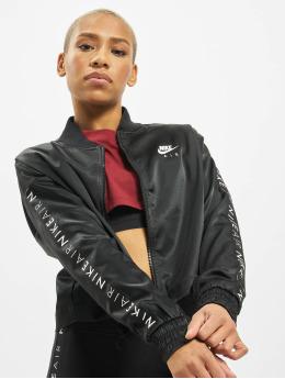 Nike Välikausitakit Air Satin musta
