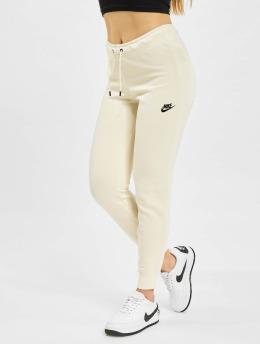 Nike Verryttelyhousut W Nsw Essntl Flc Mr beige