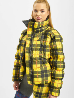 Nike Veste matelassée Synthetic Fill AOP PD jaune