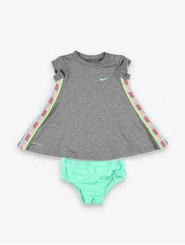 Nike Vestido Rainbow Taping gris