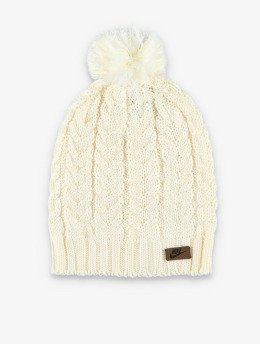 Nike Winter Bonnet Knit Pom beige