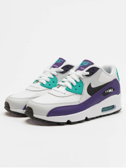 Nike Zapatillas de deporte Air Max 90 Leather (GS)  blanco