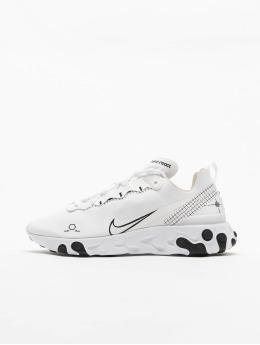 Nike Zapatillas de deporte React Element 55 blanco