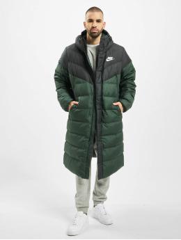 Nike Zimní bundy Down Fill Windrunner zelený