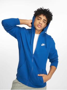Nike Zip Hoodie Sportswear индиго