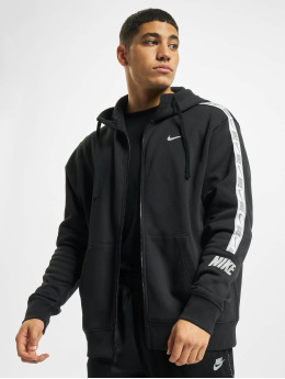 Nike Zip Hoodie Repeat Fleece Full black
