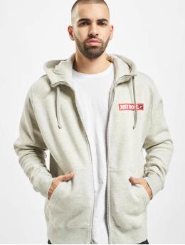 Nike Zip Hoodie JDI Full Zip Fleece  grå