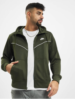 Nike Zip Hoodie Repeat PK Full Zip kaki