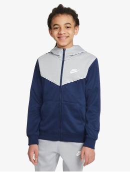 Nike Zip Hoodie Repeat  modrá