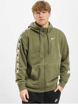Nike Zip Hoodie Repeat Flecce Full Zip  oliven