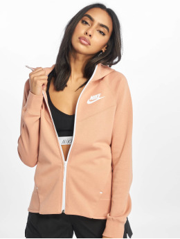 Nike Zip Hoodie Tech Fleece rosa