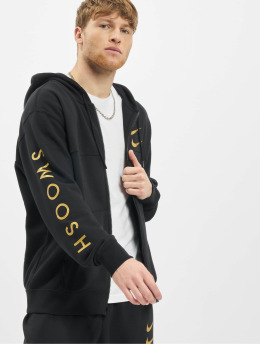 Nike Zip Hoodie Nsw Swoosh svart