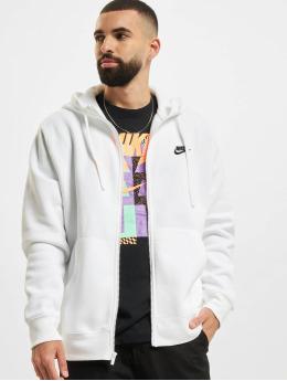 Nike Zip Hoodie Club Hoodie Full weiß
