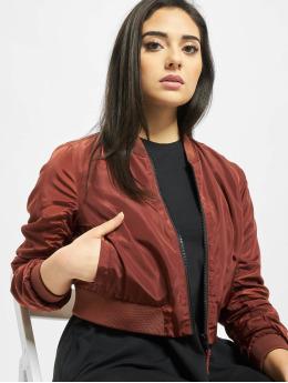 Noisy May Куртка-бомбардир nmSadie Crop коричневый