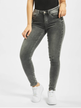 Noisy May Облегающие джинсы nmKimmy  серый