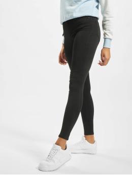 Noisy May Облегающие джинсы nmLucy Normal Waist Power Shape Noos черный