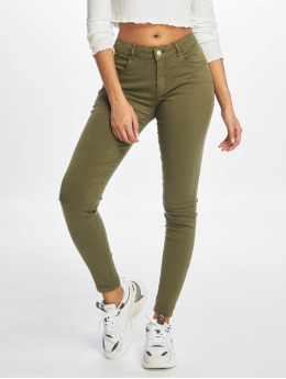 Noisy May Jean skinny nmTribeca  olive