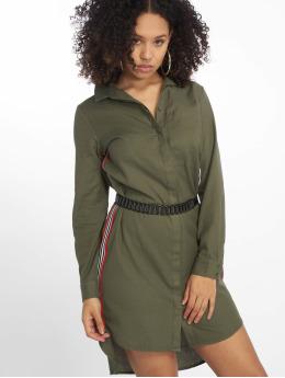 Noisy May jurk nmCurtis olijfgroen