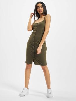 Noisy May jurk nmMox Sleeveless Color olijfgroen