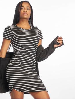 Noisy May Kleid nmSummer Stripe schwarz