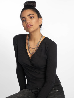 Noisy May Longsleeve nmCourtney Top 2 schwarz