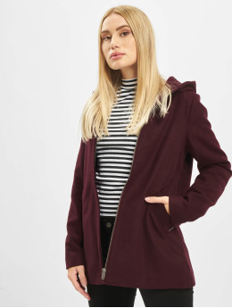 Noisy May Manteau hiver nmDido  rouge