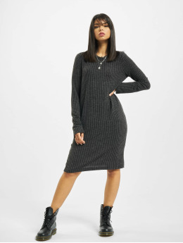 Noisy May Robe nmLucie Knit gris
